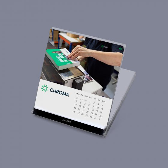 CD Calendar Style 2 with business logo