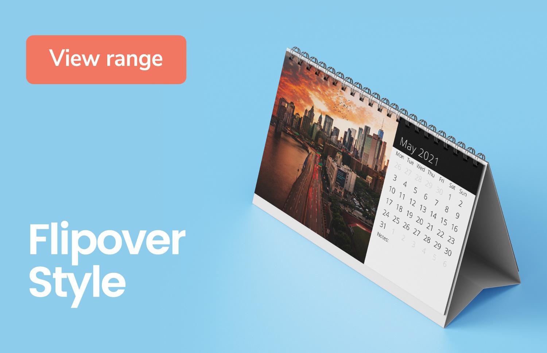 Flipover calendars