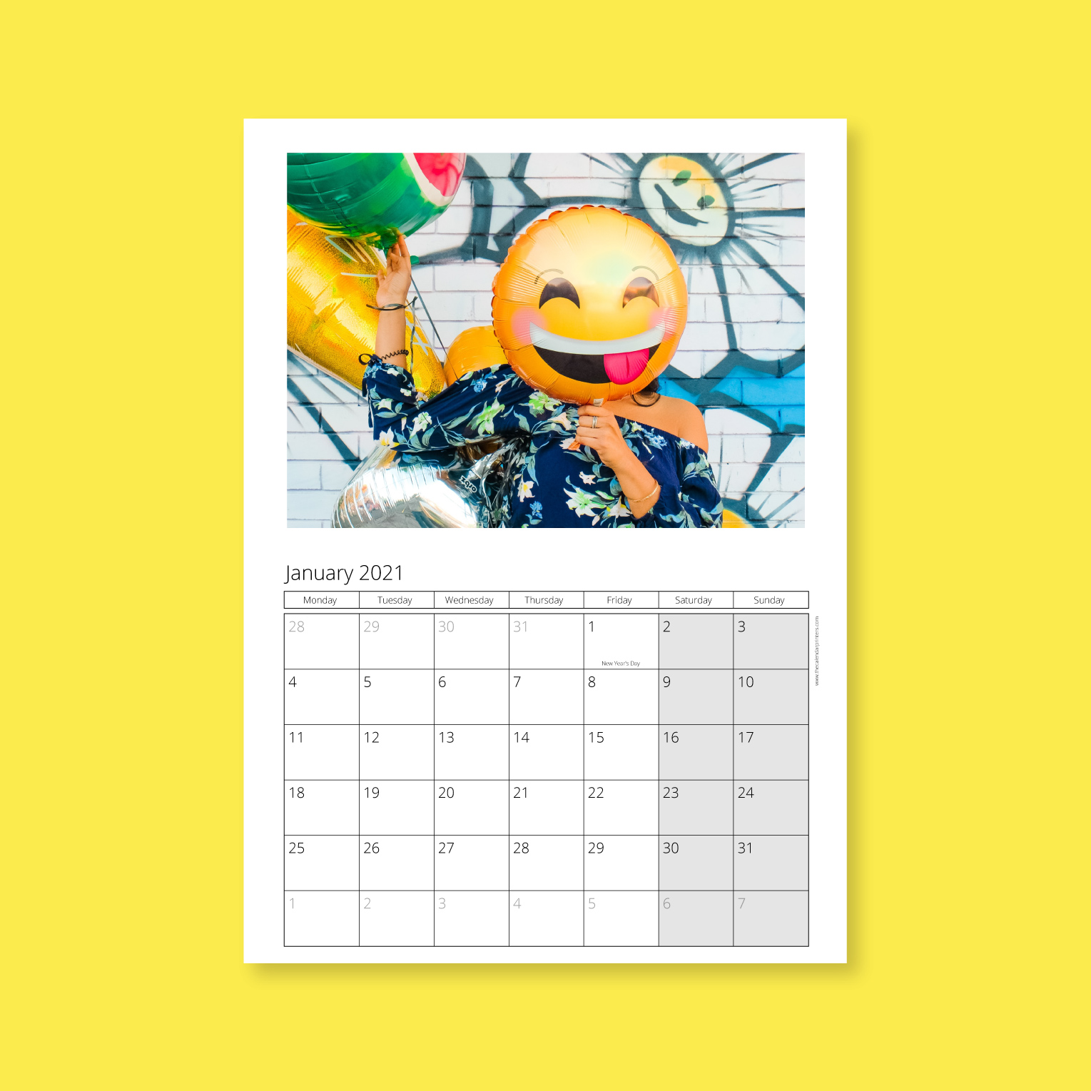 Economy wall A4 calendars