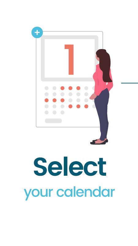 select your calendar